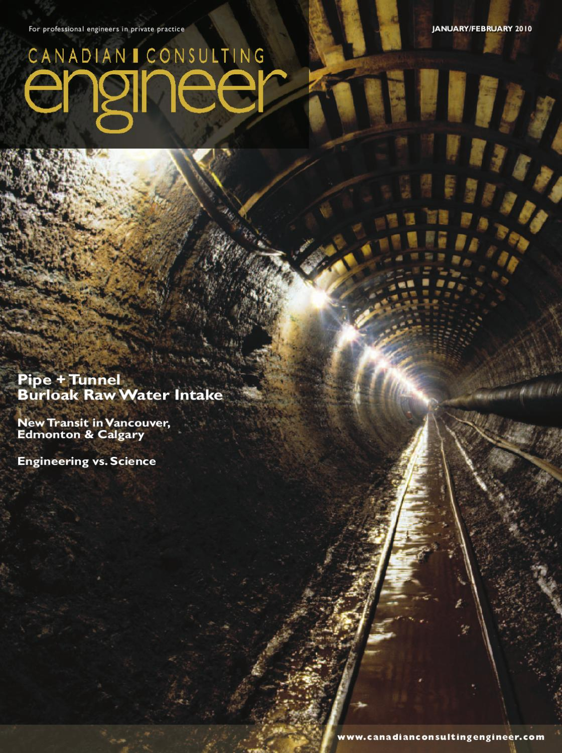 Canadian Consulting Engineer January/February 2010 by Annex