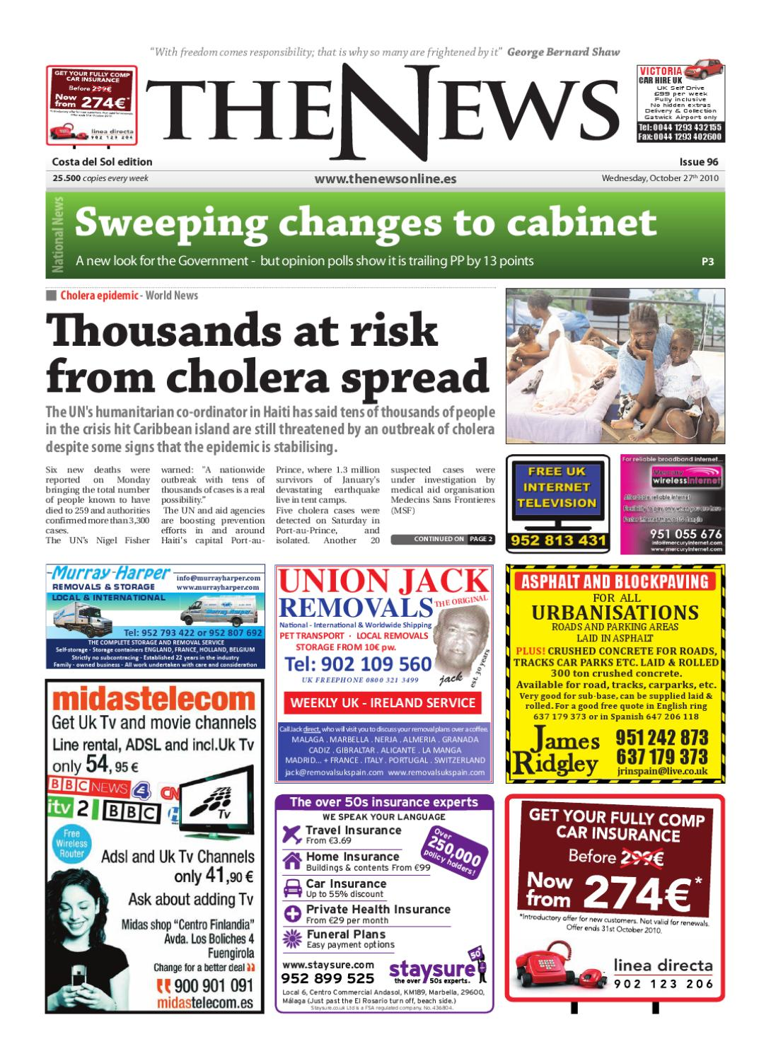 ad7c6092758bb The News Newspaper - Issue 096 (Date 27-10-10) by The News Newspaper - issuu