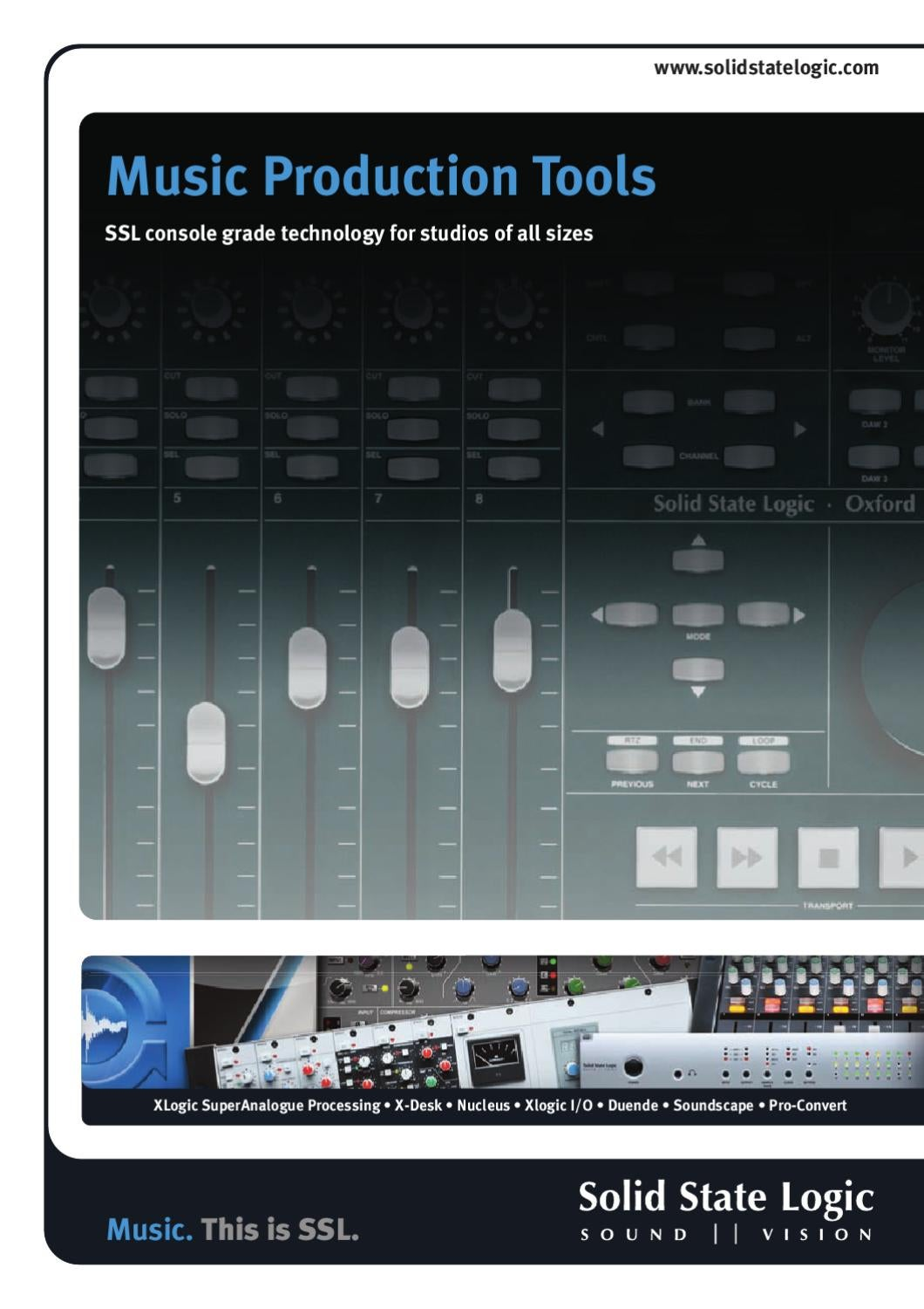 Solid State Logic Music Production Tools by Sound Technology Ltd - issuu