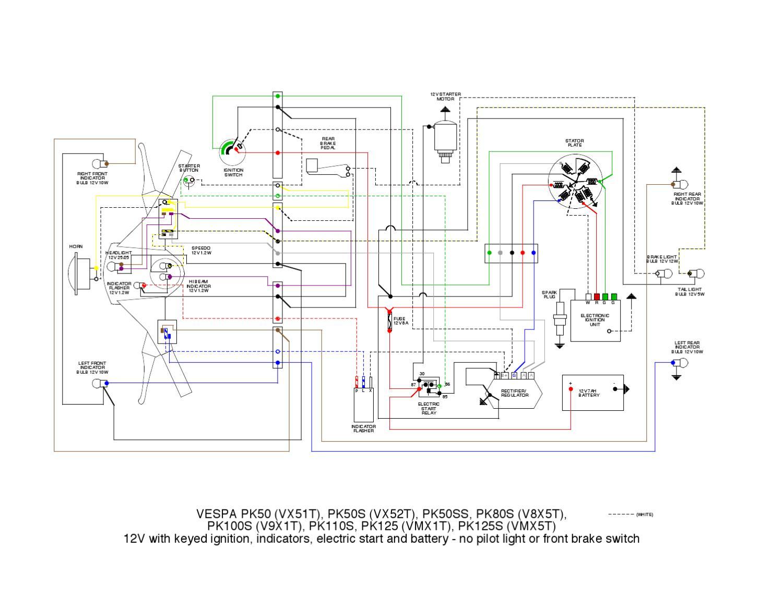 Vespa Pk Wiring Diagrams By Et3px Et3px