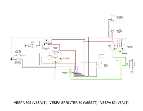 wiring diagram vespa 50 special diy enthusiasts wiring diagrams u2022 rh broadwaycomputers us 3-Way Switch Wiring 1 Light 2-Way Light Switch Wiring