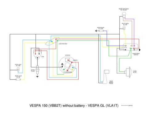 vespa gt200 wiring diagram    vespa    vb    wiring       diagram    by et3px et3px issuu     vespa    vb    wiring       diagram    by et3px et3px issuu