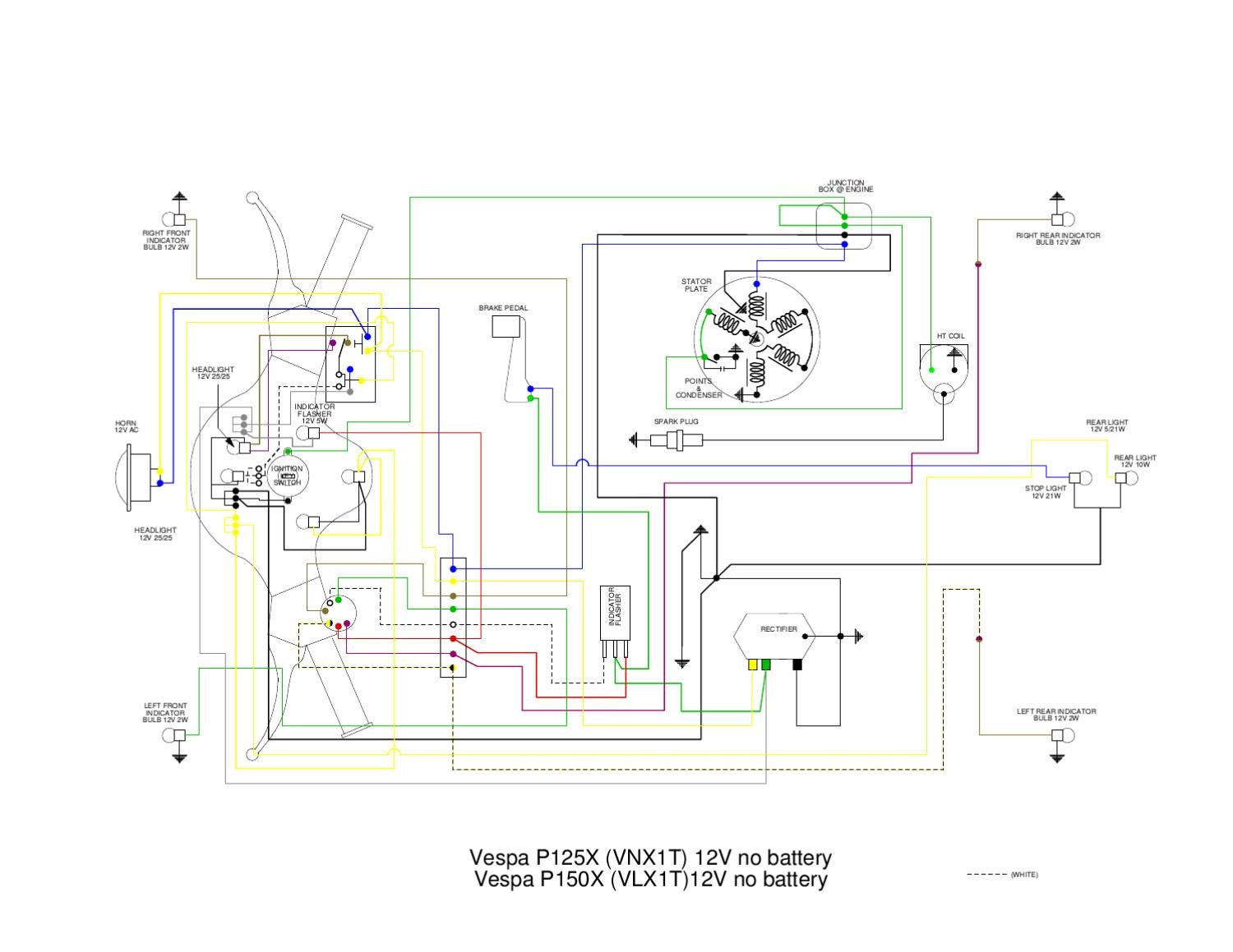 Vespa Vn Wiring Diagram By Et3px Et3px