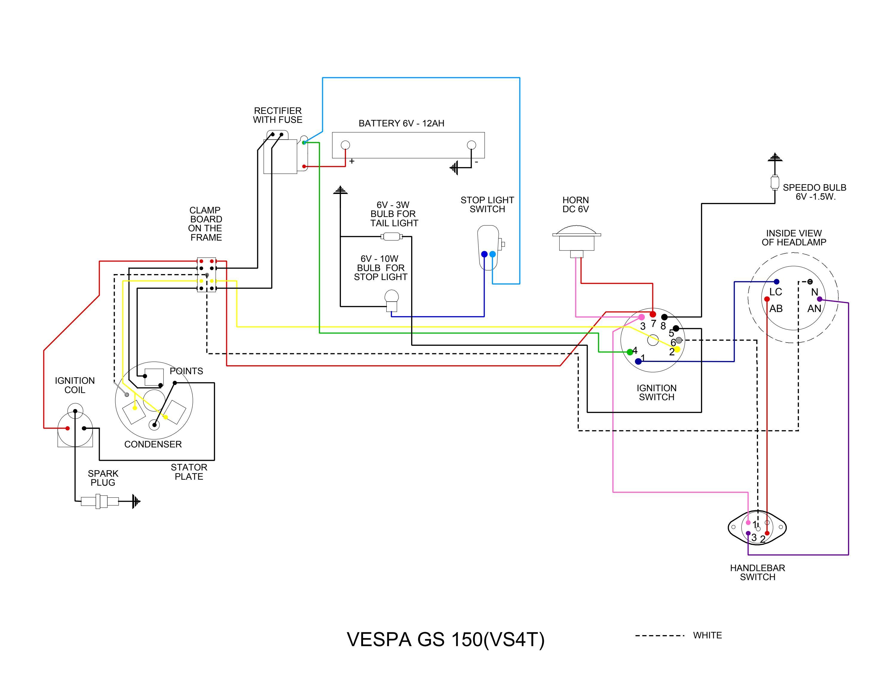 Diagram Vespa Vs Wiring Diagram By Et3px Et3px