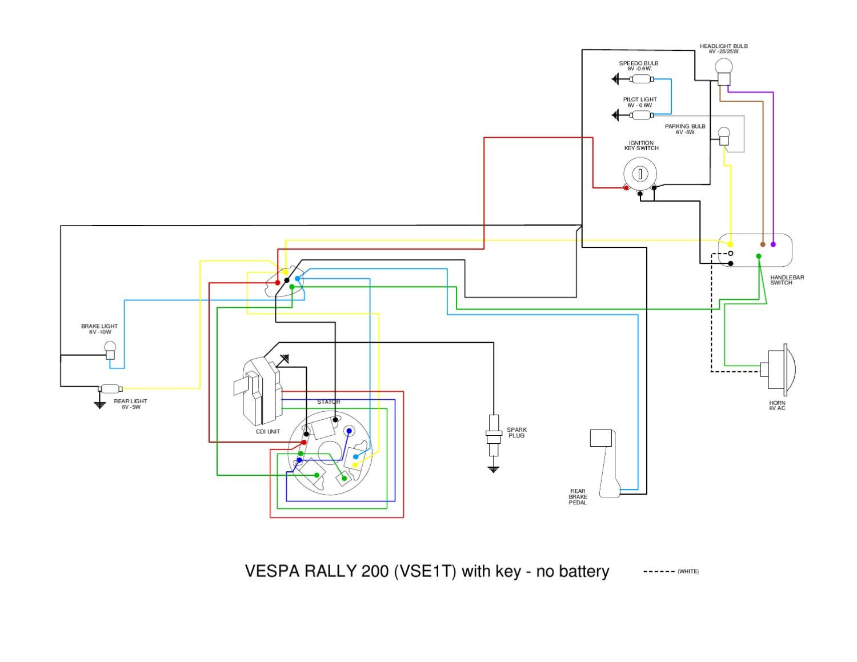 Vespa Vs Wiring Diagram By Et3px Et3px