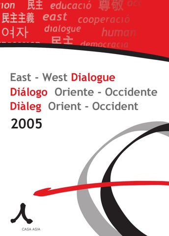 sports shoes 7bbfd 24845 Diálogo Oriente Occidente 2005