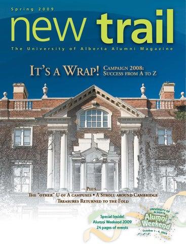 New Trail Spring 2009 by University of Alberta Alumni - issuu 131214cddcfc