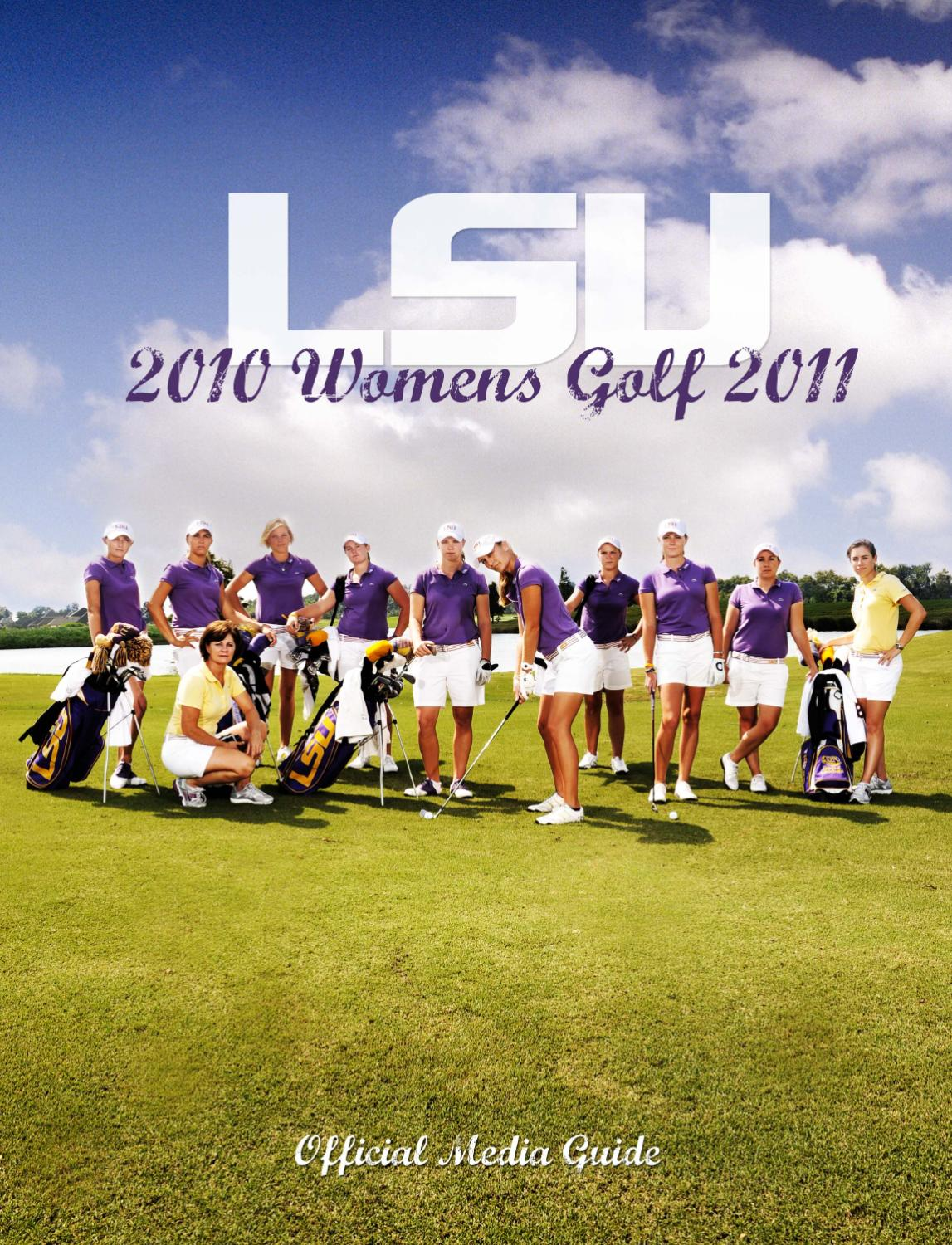 Lsu Womens Golf Media Guide By Athletics Issuu Claire Ivory Nokha Wedges Women 39