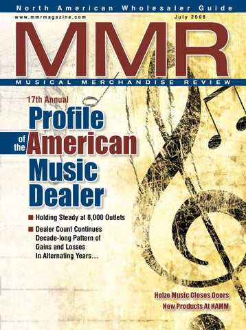 e1d14d3216 MMR May 2008 by MMR - Musical Merchandise Review - issuu