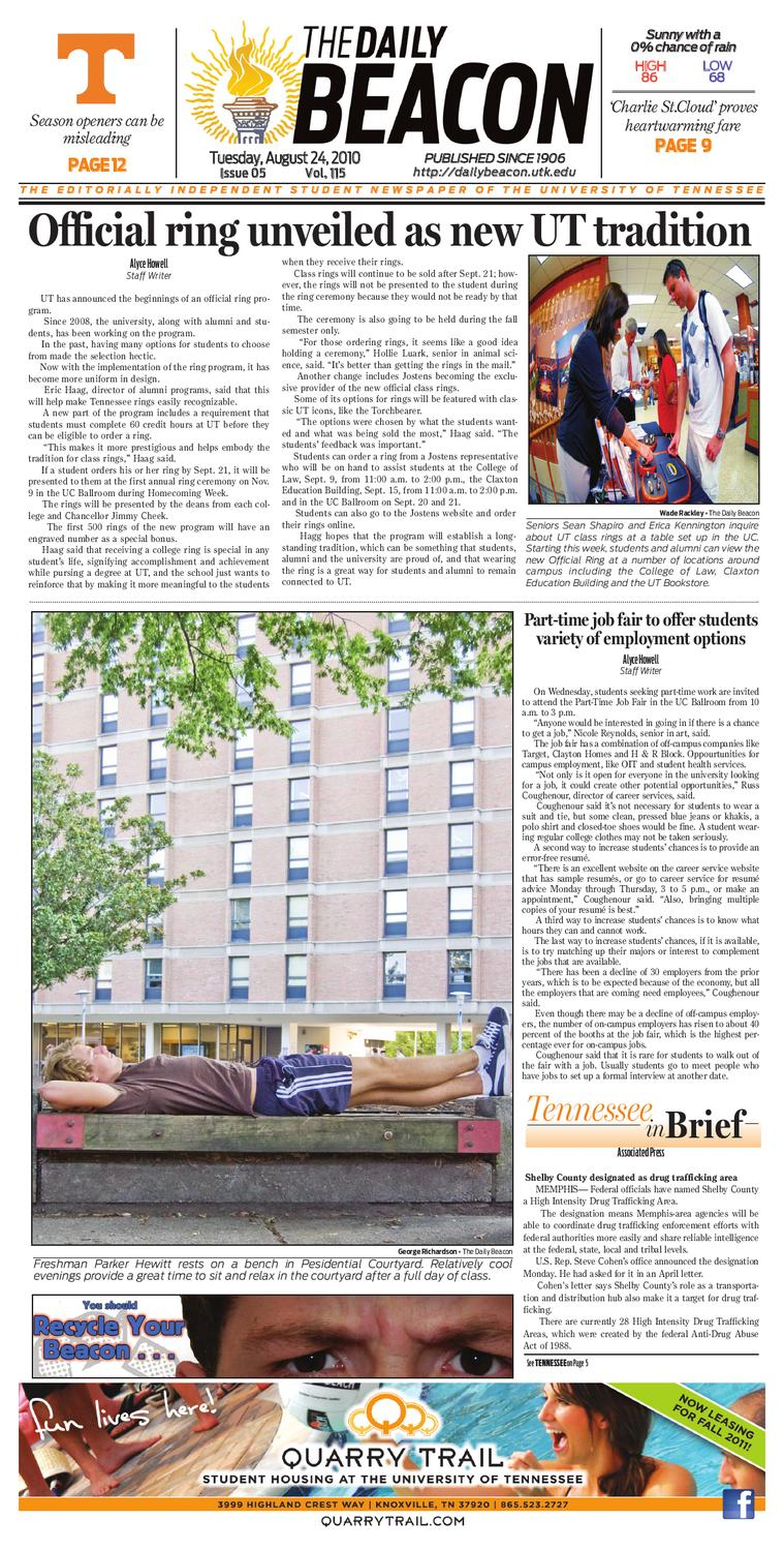The Daily Beacon by UT Office of Student Media - issuu