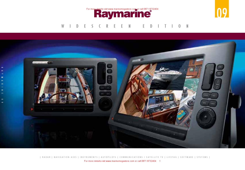 Raymarine Catalog 2009 By Marine Mega Store Ltd Issuu E120 Wiring Diagram