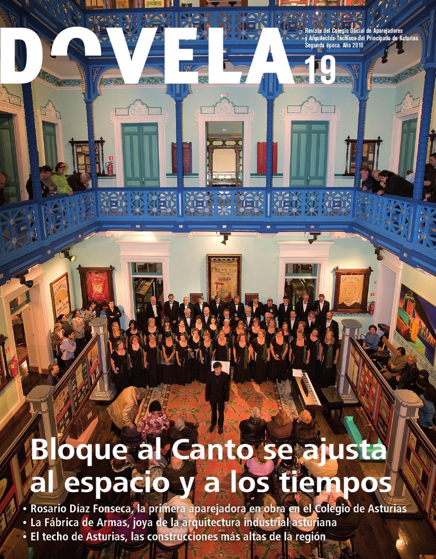 Dovela 19 By Colegio De Aparejadores Y Arquitectos T Cnicos Del  # Muebles Reto Asturias