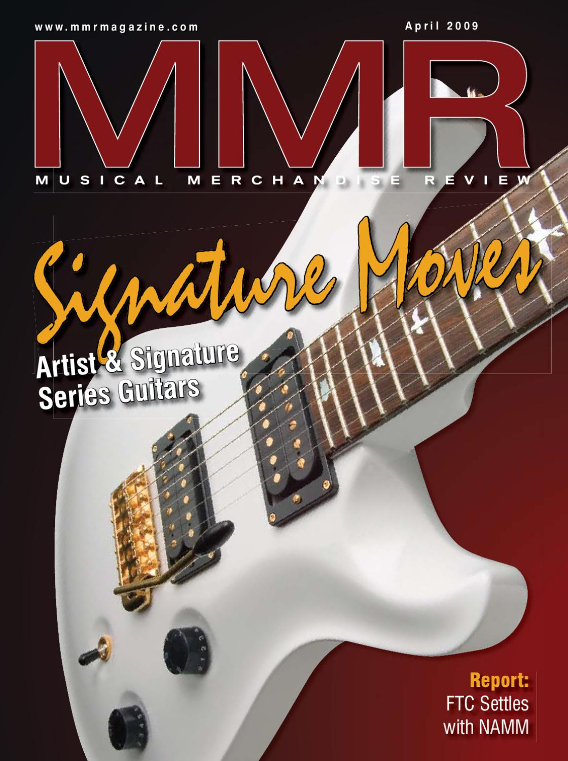 April 40 ISSUU by MMR   Musical Merchandise Review   issuu