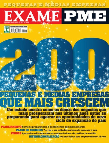 EXAME PME 28 by Revista EXAME - issuu 61157c0077