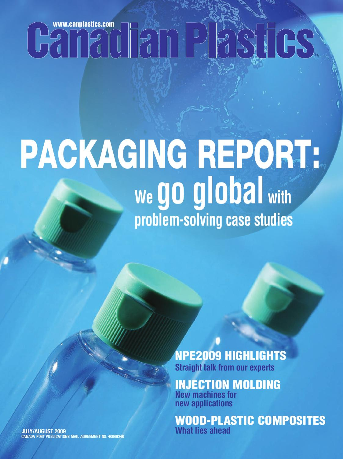 Canadian Plastics July/August 2009 by Annex Business Media