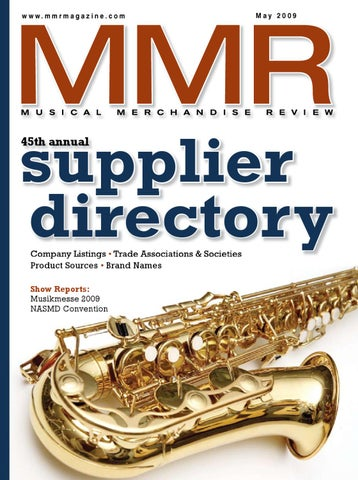 bcc6793979fa May 2009 by MMR - Musical Merchandise Review - issuu