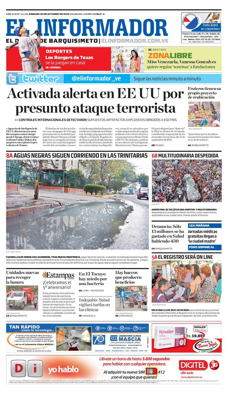 El Informador Impreso 2010 10 30 By El Informador Diario Online  # Muebles Tio Alirio