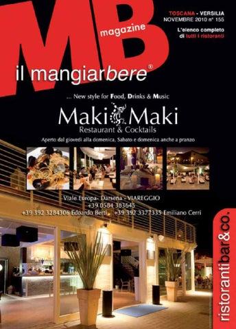 Mangiarbere novembre 2010 by antonio tolomei issuu - Bagno arizona viareggio ...