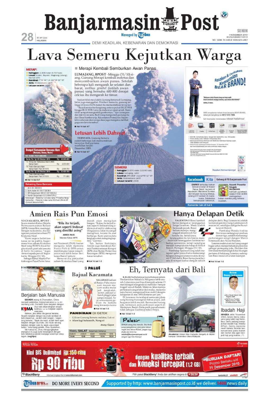 Banjarmasin Post Edisi Senin 1 November 2010 By Issuu Nature Pecinta Voucher Hypermart 50000 Alam
