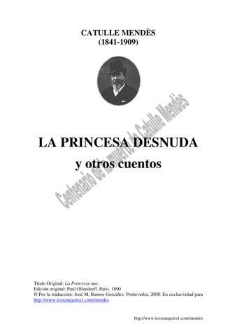 La princesa desnuda y otros cuentos by Jose Ramos - issuu