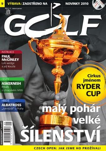 Časopis Golf 2010 9 by Golf Czech - issuu b74efb60cf4