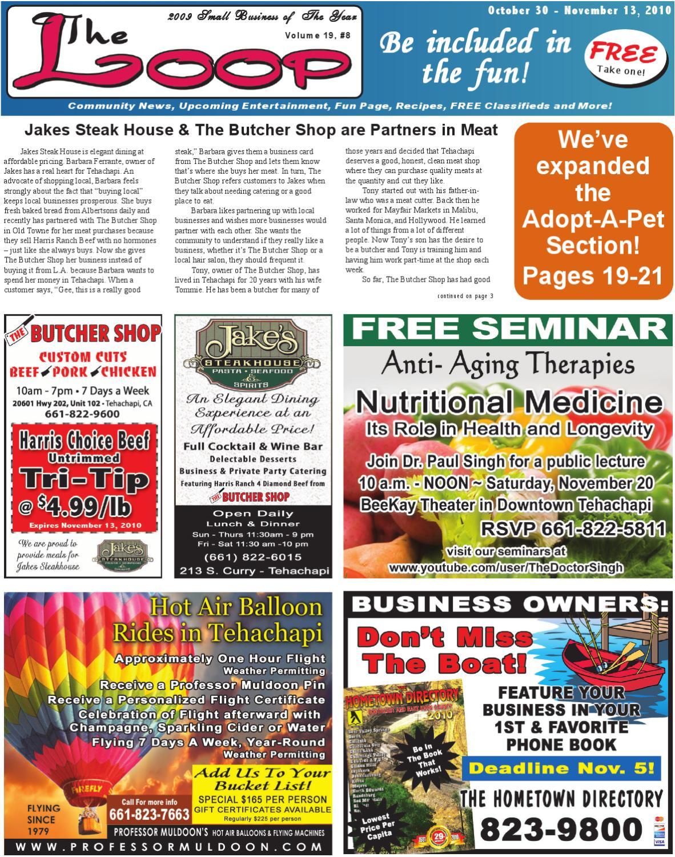 684ba8ea480989 The Loop newspaper ~ October 30 - November 13, 2010 by Hilltop Publishers:  The Loop newspaper - issuu