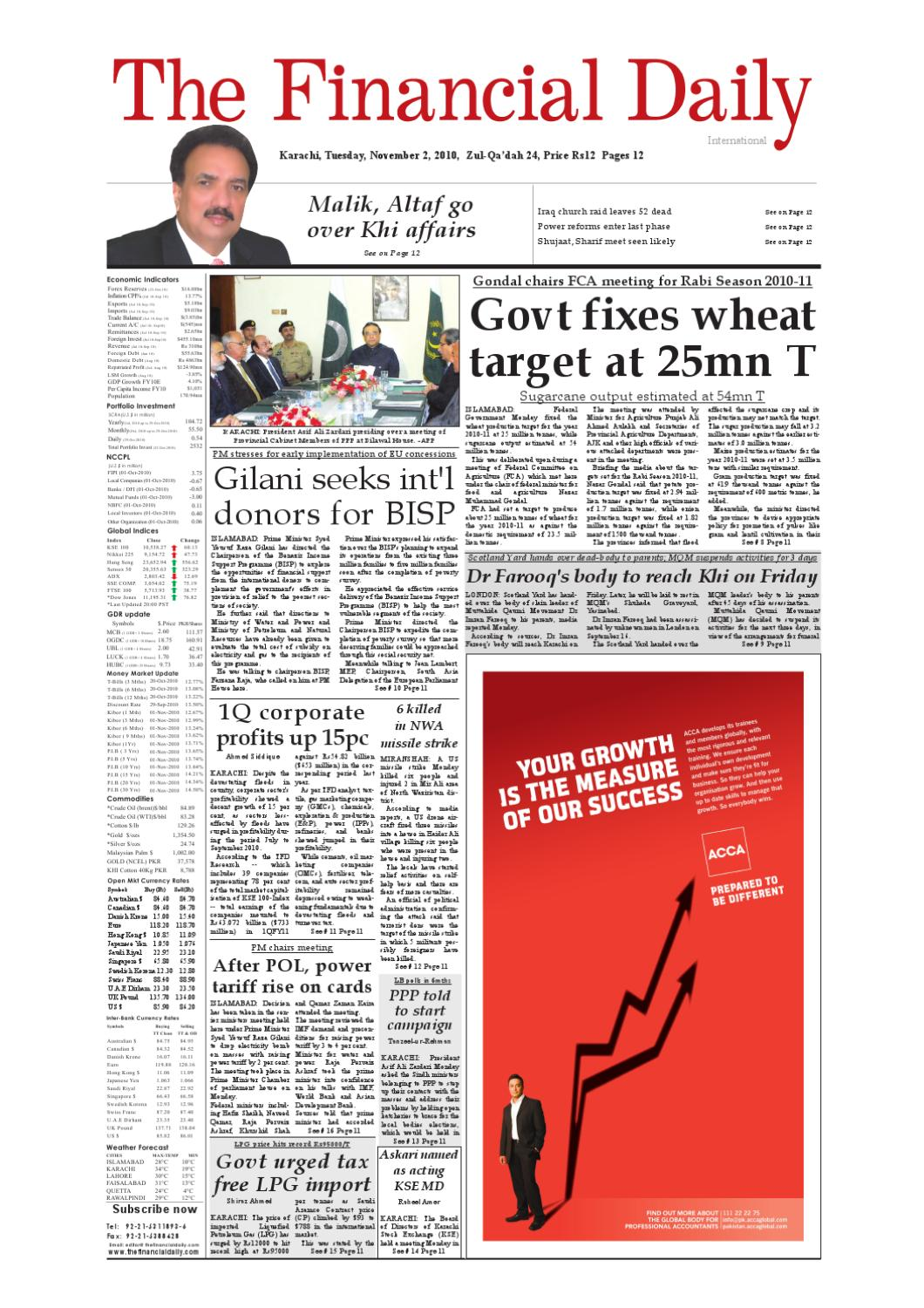 The Financial Daily Epaper 02 11 2010 By The Financial Daily Issuu