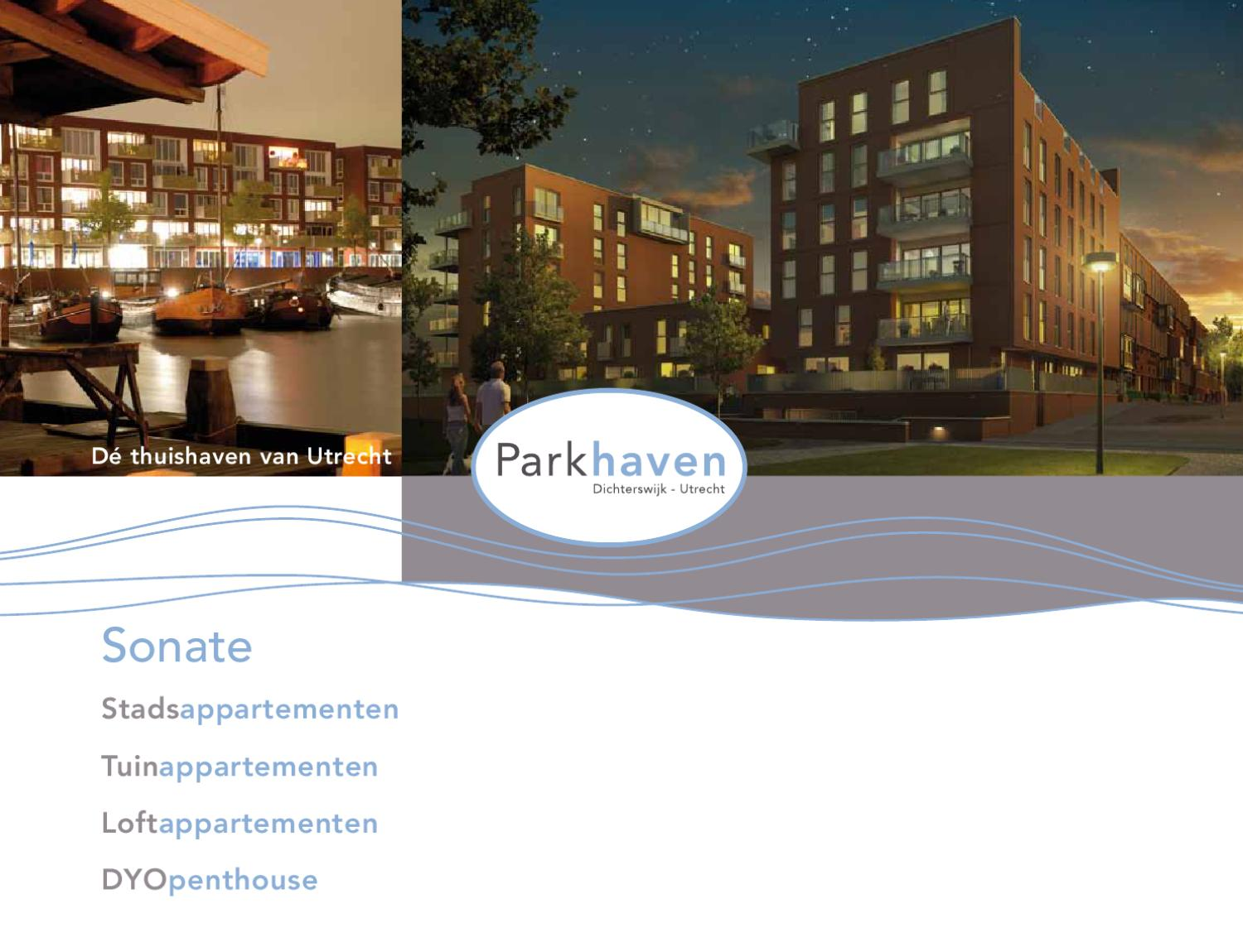 Brochure Parkhaven Appartementen Sonate By Bouwfonds