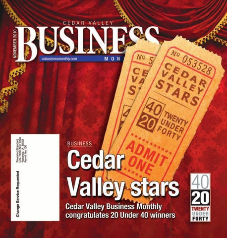 Cedar valley business monthly nov 2010 by waterloo cedar falls page 1 fandeluxe Choice Image