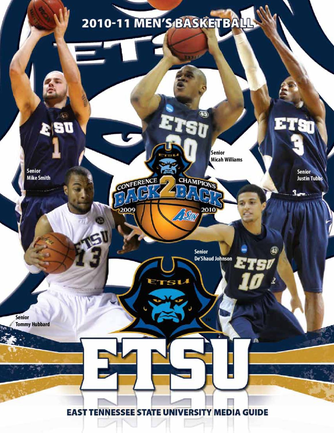 e79c00e0a682 2010-11 ETSU Men s Basketball Media Guide by ETSUBucs.com - issuu