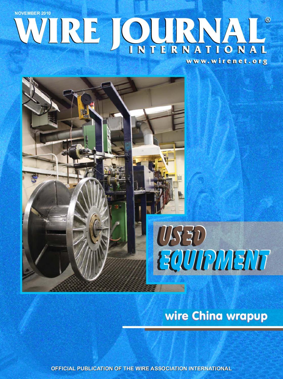Used Equipment by Wire Journal International, Inc. - issuu