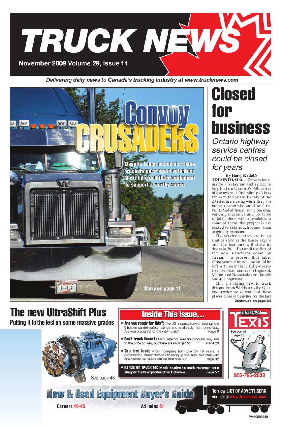 Truck News November 2009 by Annex Business Media - issuu