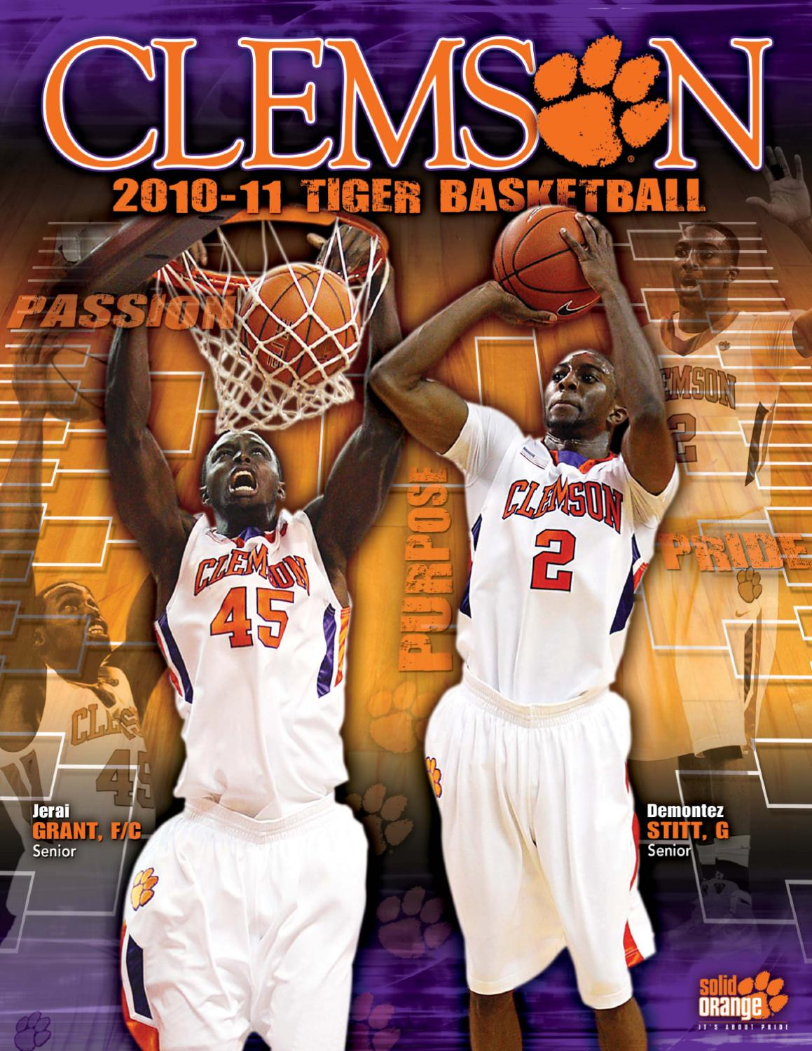 new arrival f7b86 7b6ba 2010-11 Clemson Men s Basketball Media Guide by Clemson Tigers - issuu
