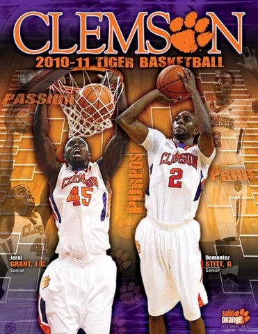 5c901c7bc9fe TABLE OF CONTENTS General Information Clemson s Basketball Heritage 2010-11  Roster 2010-11 Quick Facts Media Information 2010-11 Outlook 2010-11  Schedule ...