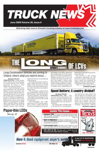Truck News June 2009 by Annex Business Media - issuu