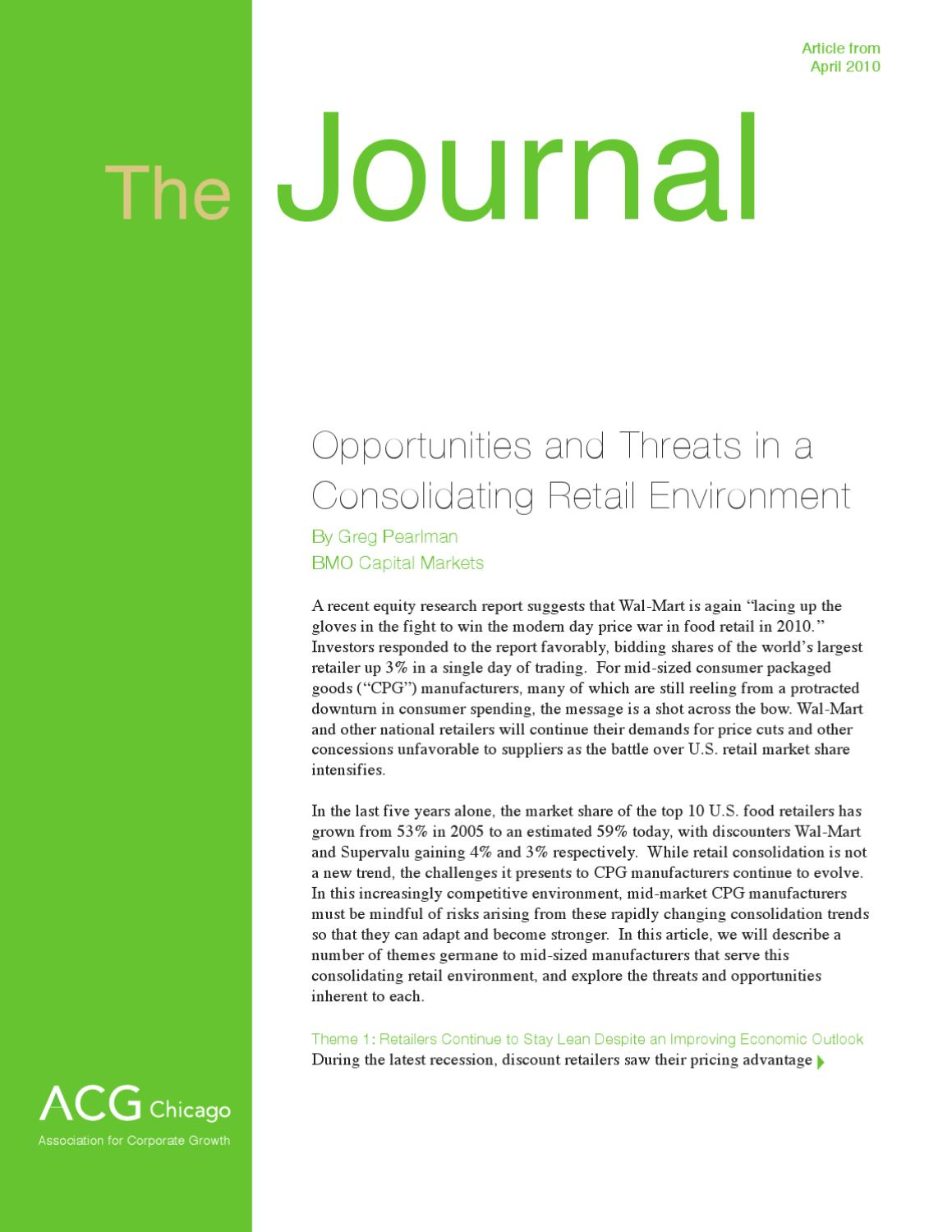 retail sector opportunity and threats Industry swot analysis analysis of the major strengths, weaknesses, opportunities and threats within the retail sector and within the broader political, economic and business environment bmi industry forecasts there are four separate 5-year forecast modules in the retail reports these are.