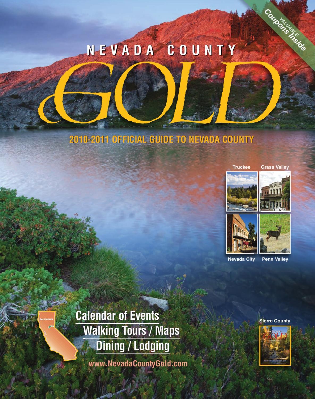 2010 nevada county gold magazine by nevada county gold for Scotts flat lake fishing