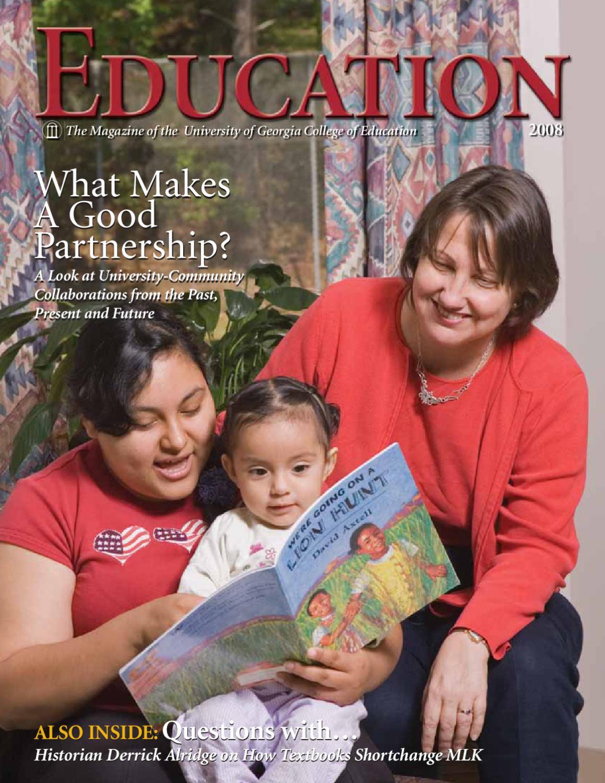 2008 UGA COE EDUCATION magazine by University of Georgia College of ...