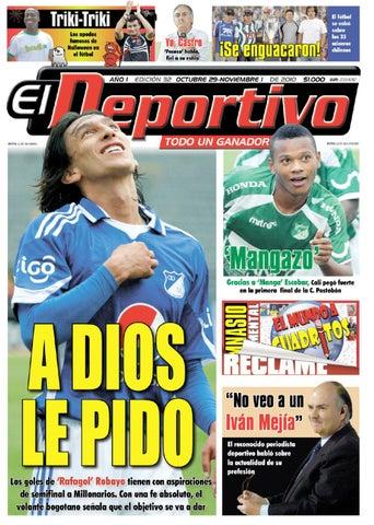 88b4e45c4c ElDeportivo-ED32 by El Deportivo - issuu