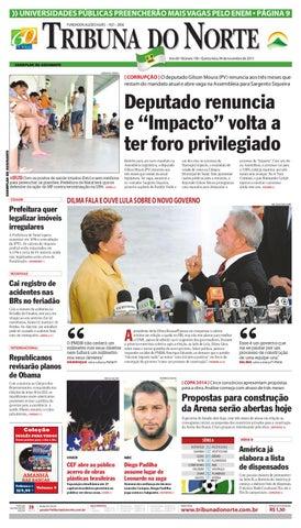 Tribuna do Norte - 04 11 2010 by Empresa Jornalística Tribuna do ... 89dcf57487d15