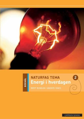 2a034bfd Naturfag Tema Energi i hverdagen by Cappelen Damm - issuu