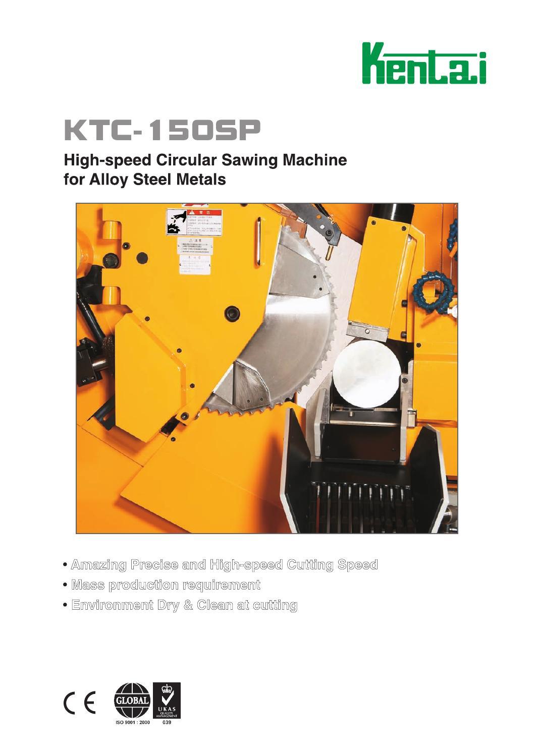 KTC-150SP-High Speed Circular Sawing Machine by KENTAI MACHINERY CO