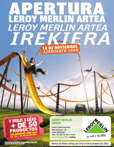 Apertura leroy merlin artea by leroy merlin espa a issuu - Musique pub leroy merlin ...