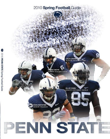 2010 Spring Football Guide by Penn State Athletics - issuu a2e5d07163fb6