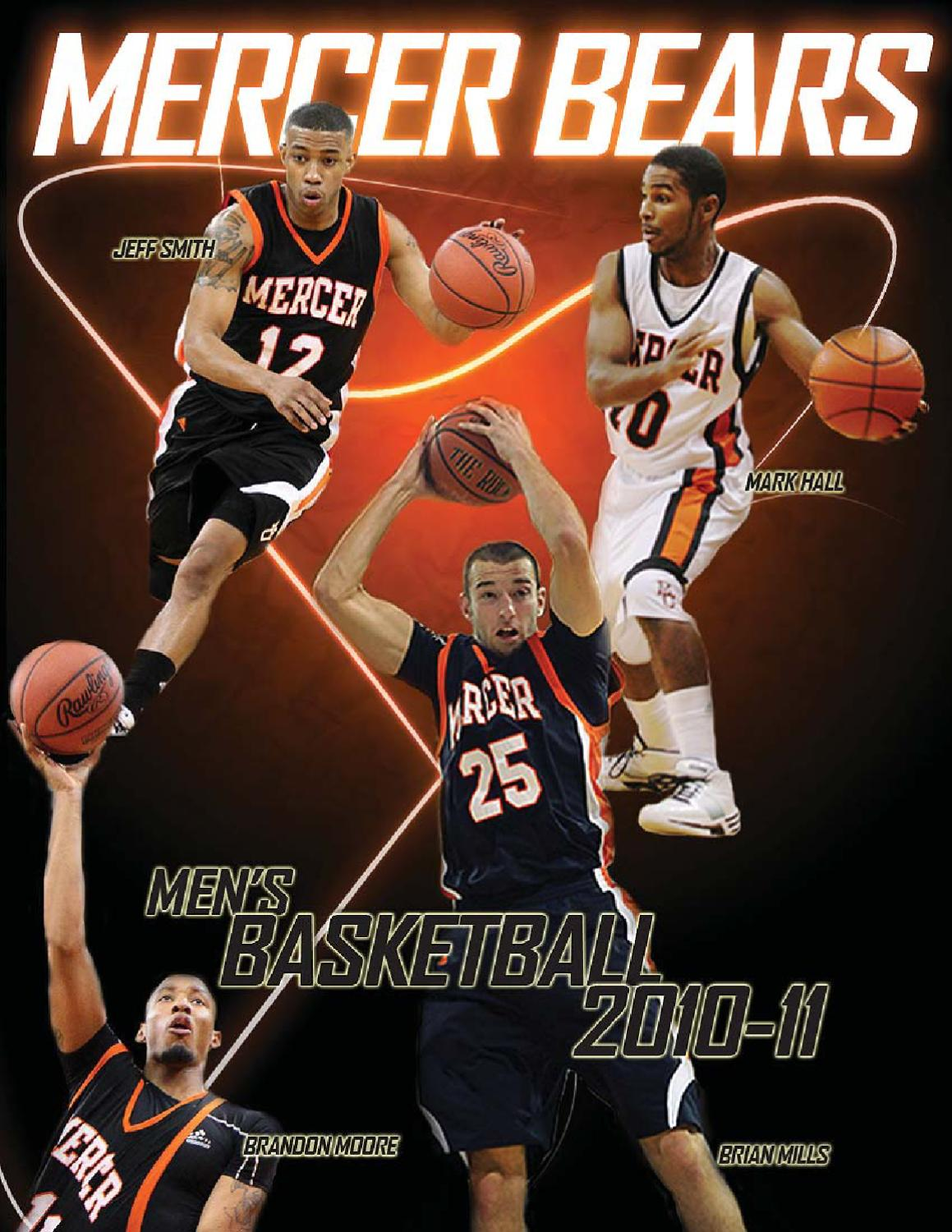 2010-11 Mercer Men s Basketball Guide by dave beyer - issuu 2872e59b4