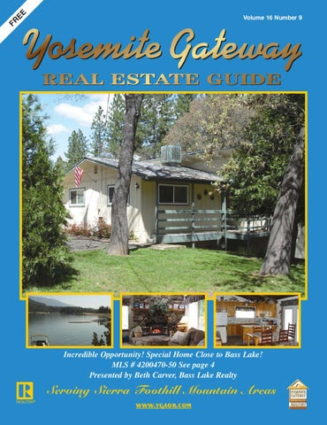 yosemite gateway real estate guide vol 16 no 9 by ibuildmagazines rh issuu com