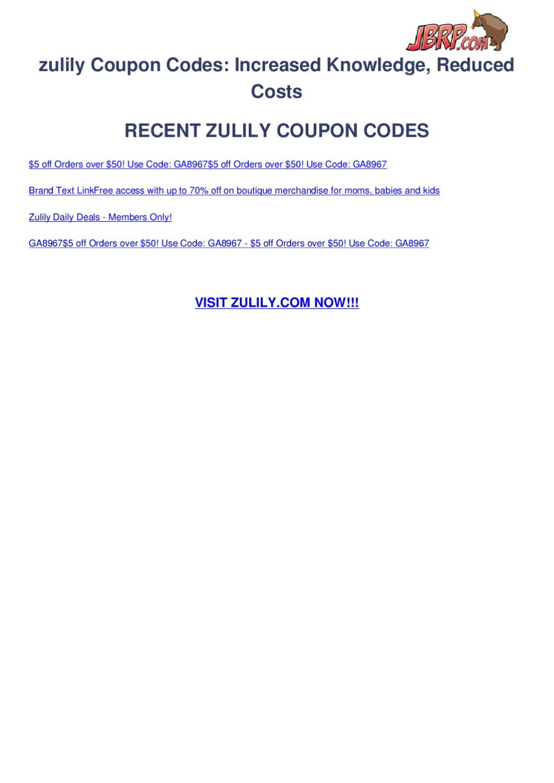 081da2ebea5 zulily-coupon-codes by Ben Olsen - issuu