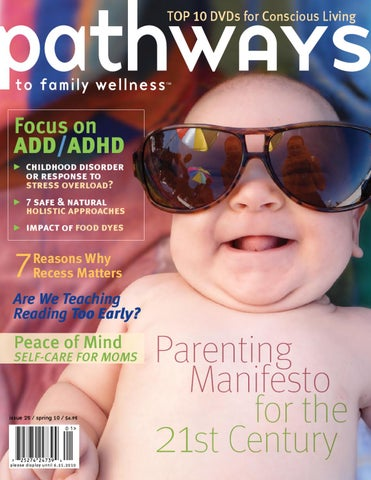 Pathways To Family Wellness Issue 25 By Pathways To Family