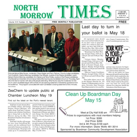 NMT May 2010 by North Morrow Times - issuu