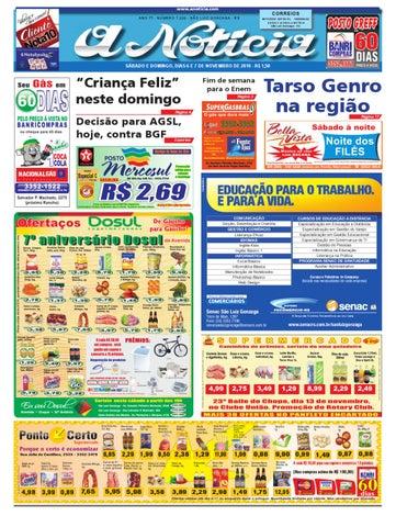Edição do dia 6 e 7 de novembro de 2010 by Jornal A Notícia - issuu bc089536ce